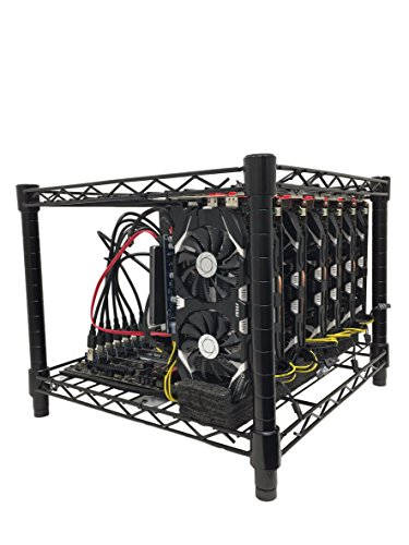 160 MH s GPU Mining Rig for Ethereum  Monero  ZCash  etc