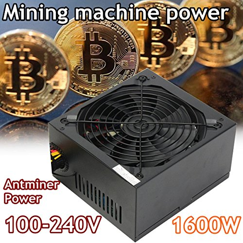 1600W Modular Power Supply For 6 GPU Eth Rig Ethereum Coin Mining Miner Machines Computer power Supply For BTC