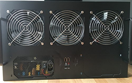 6 8 GPU Crypto Mining Server Case  Rackmount 6U