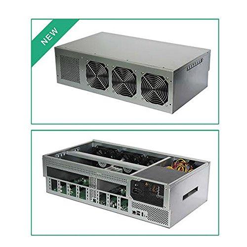 8 GPU MINING  4U Metal Rackmount including Motherboard  CPU  HDD  Fans  RAM  1600W PSU