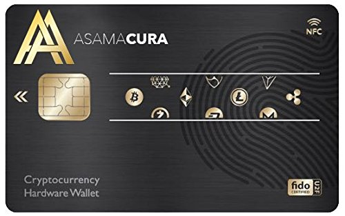 ASAMACURA NFC-IC Crypto Wallet