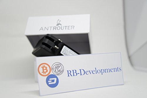 AntRouter R1-LTC ~1 29MH s ASIC Litecoin Miner with Built-In WiFi Router (AntRouter R1-LTC @ 1 29MH s)