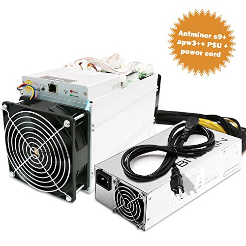 Antminer S9 ~14 0TH s @  098W GH 16nm ASIC Bitcoin Miner Power Supply Included