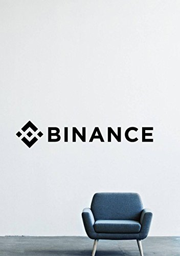 Binance Coin Cryptocurrency Wall Decals – Logo Vinyl Stickers For Men Women Kids – Stickers For Car Windshield Door Window – Removable Kitchen Living Room Home Decor Wall Decals GMO9720