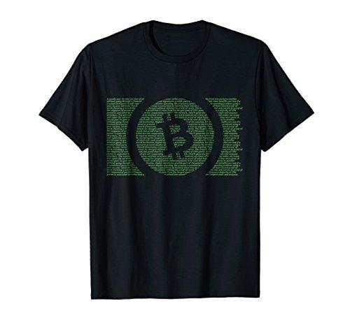 Bitcoin Cash Satoshi Nakamoto Whitepaper T-Shirt BCH GREEN
