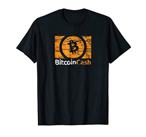 Bitcoin Cash Tshirt Crypto Trader Miner HODL Blockchain Gift