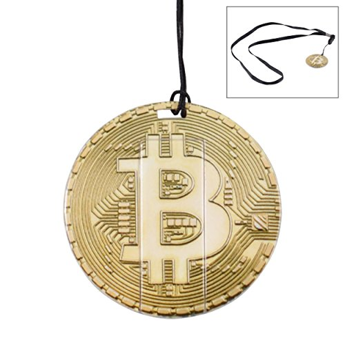 Bitcoin Flash Drive – 16GB USB 2 0 Memory Stick - Crypto Coin Thumb Drive (Gold)