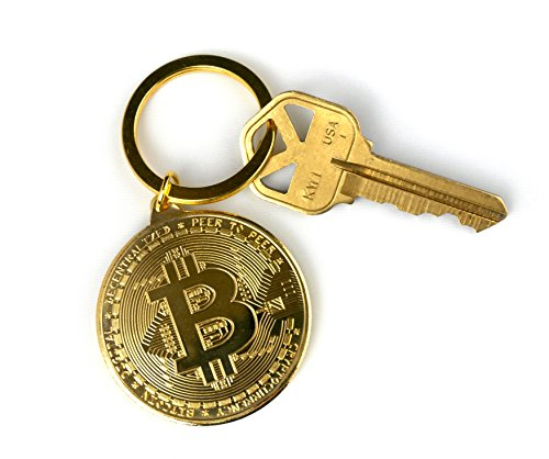 Bitcoin Keychain Crypto Currency BTC