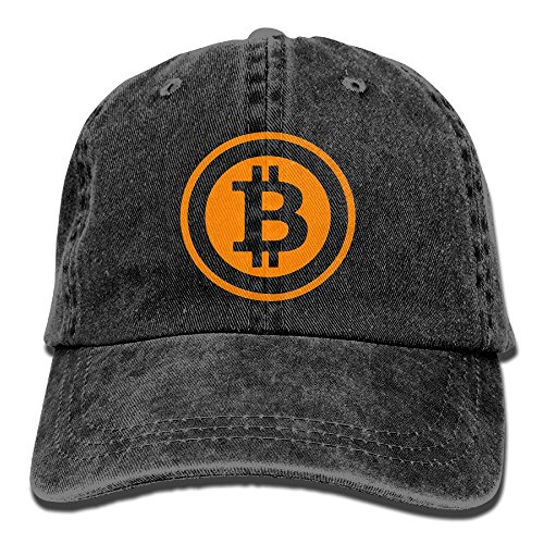 Bitcoin Logo 2017 Cotton Adjustable Jean Cap Leisure Hats For Man And Woman