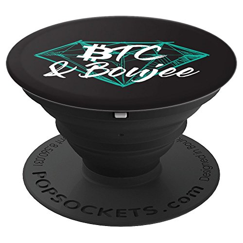 Bitcoin and Boujee Cryptocurrency Diamond Miner Boss - PopSockets Grip and Stand for Phones and Tablets