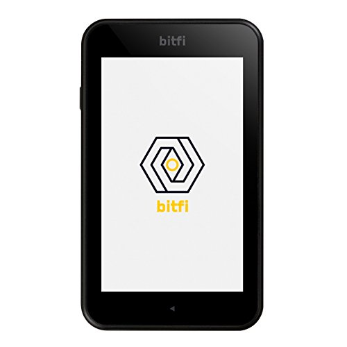 Bitfi Cryptocurrency Hardware Wallet - Black