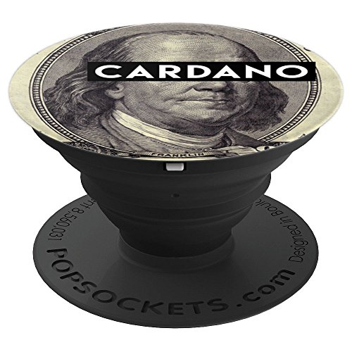 Cardano ADA PopSocket for Crypotcurrency Miners - PopSockets Grip and Stand for Phones and Tablets