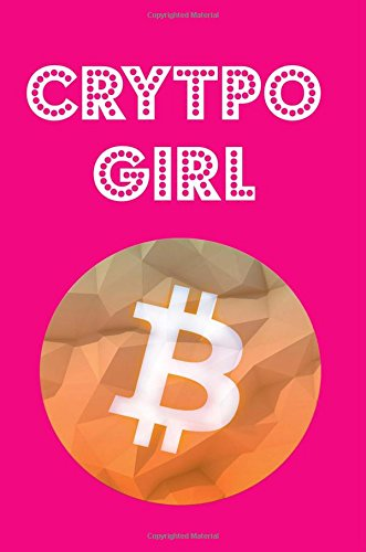 Crypto Girl  Crypto Currency Investing Journal  Writing Down Notes  Crypto Goals (6x9 inch) (150 pages) - Half Blank Half Ruled