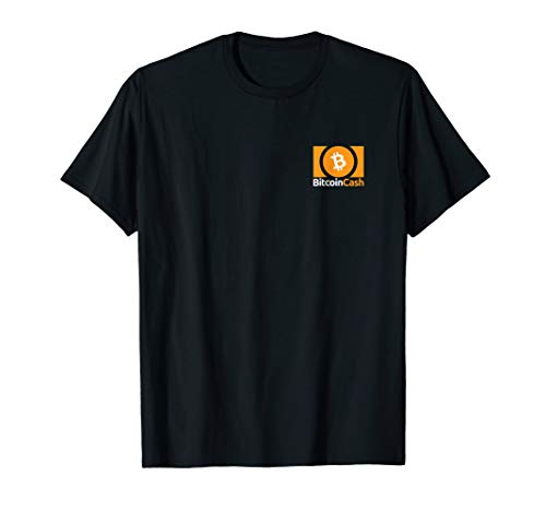 Cryptocurrency  Bitcoin Cash Logo T-shirt (Pocket)