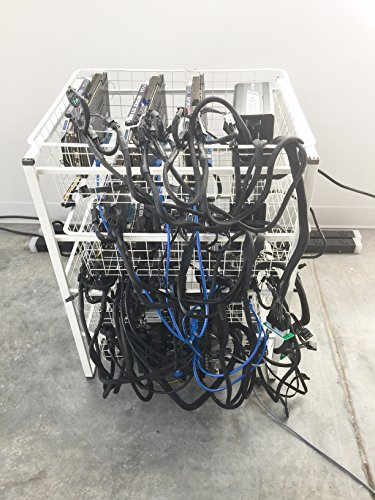 Cryptocurrency Mining Rig (Ethereum  Monero  Electronium  zCash  etc ) 12 GPU's (6 GPU)
