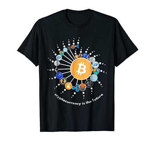 Cryptocurrency T-shirt  Bitcoin  Ethereum  Litecoin T-shirt