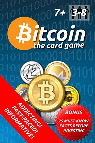 Deluxe Pit Bitcoin Card Game Style - Classic Cryptocurrency Trading Game - Trade Litecoin  Ethereum  Monero and More - Limited Crypto Edition - 3 to 8 Players - Great For Friends and Family Activities