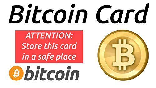 Gift Some Crypto Bitcoin  Paper Wallet  Plastic Card (10)