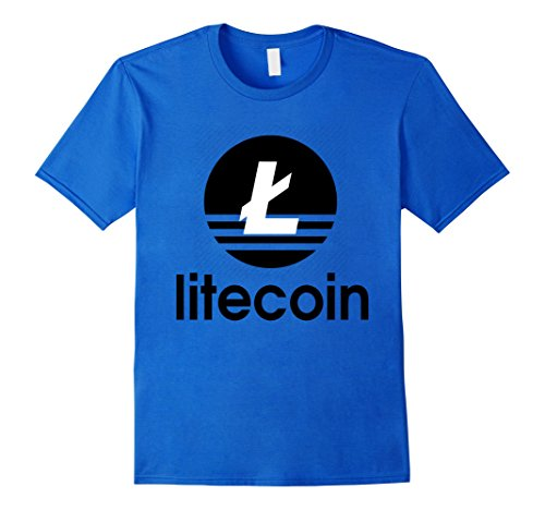 Litecoin LTC T Shirt for Blockchain Fans