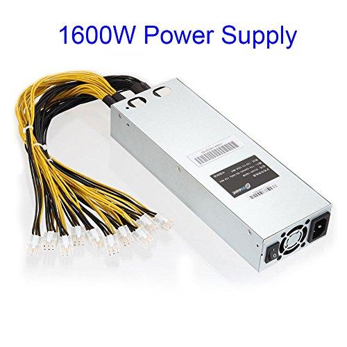 Lznlink 1600W 1800W APW3 Mining Machine Power Supply for Antminer Miner S9 S7