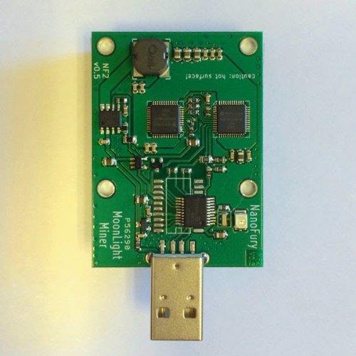 NF2 5 Gh s Nano Fury 2 Dual Chip USB Miner Bitfury NFY2 asic-miner