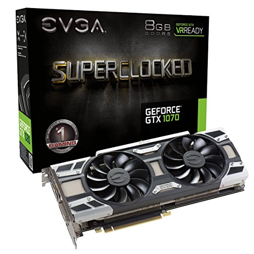 EVGA GeForce GTX 1070 SC GAMING ACX 3 0  8GB GDDR5  LED  DX12 OSD Support (PXOC) Graphics Card 08G-P4-6173-KR